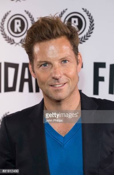 Jamie Bamber during the Raindance Film Festival VIP anniversary drinks reception held at The Mayfair Hotel on August 15 2017 in London England