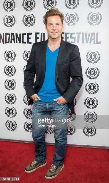 Jamie Bamber during the Raindance Film Festival VIP anniversary drinks reception held at The Mayfair Hotel on August 15, 2017 in London, England.
