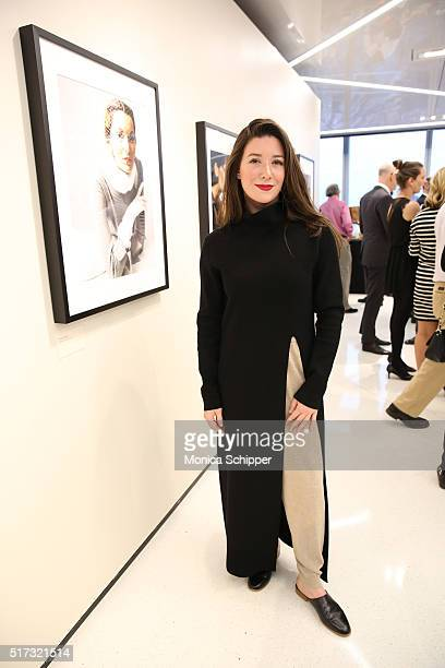 Jamie Beck attends the Stories Untold Conde Nast Collection Presented By Getty Images Opening Celebration at The Conde Nast Gallery on March 24 2016...