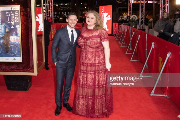 Jamie Bell and Danielle Macdonald attend the 'Skin' premiere during the 69th Berlinale International Film Festival Berlin at Zoo Palast on February...