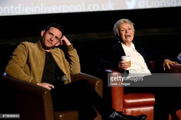 Jamie Bell and Julie Walters attend the 'Film Stars Don't Die In Liverpool' Screening and QA at Empire Haymarket on November 26 2017 in London England