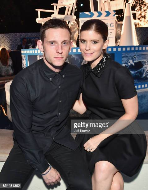Jamie Bell and Kate Mara at HBO's Spielberg Premiere at Paramount Studios on September 26 2017 in Hollywood California