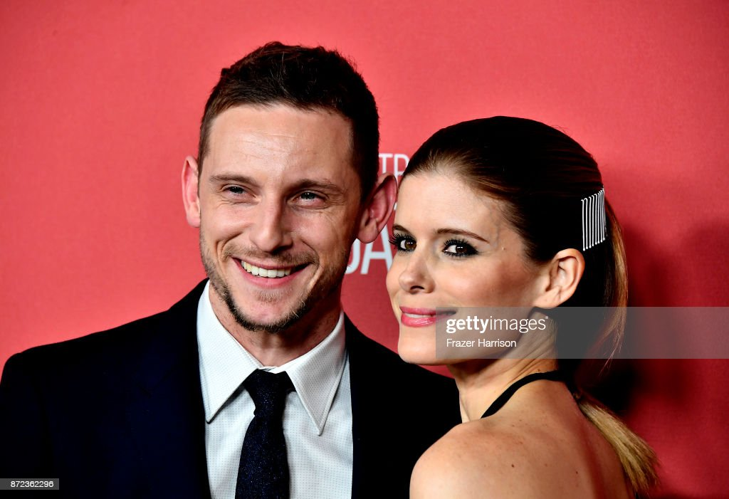 Jamie Bell and Kate Mara attend SAG-AFTRA Foundation Patron of the Artists Awards at the Wallis Annenberg Center for the Performing Arts 2017 on November 9, 2017 in Beverly Hills, California.