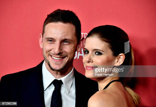 Jamie Bell and Kate Mara attend SAGAFTRA Foundation Patron of the Artists Awards at the Wallis Annenberg Center for the Performing Arts 2017 on...