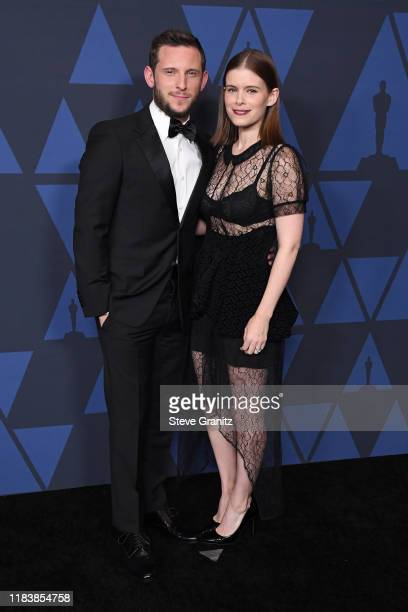 Jamie Bell and Kate Mara attend the Academy Of Motion Picture Arts And Sciences' 11th Annual Governors Awards at The Ray Dolby Ballroom at Hollywood...