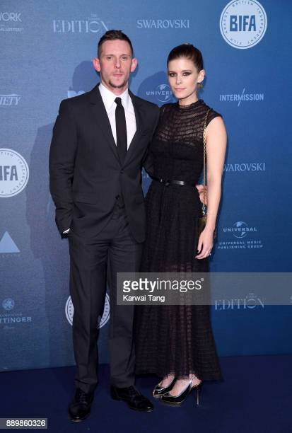 Jamie Bell and Kate Mara attend the British Independent Film Awards held at Old Billingsgate on December 10 2017 in London England