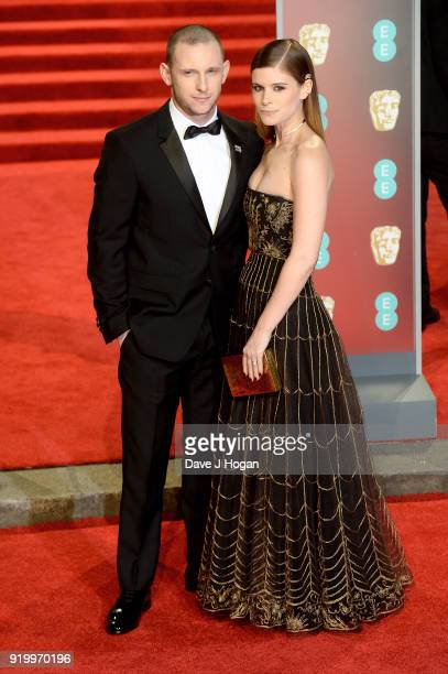 Jamie Bell and Kate Mara attend the EE British Academy Film Awards held at Royal Albert Hall on February 18 2018 in London England