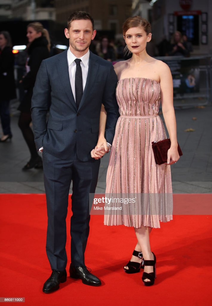 Jamie Bell and Kate Mara attend the Mayfair Gala & European Premiere of 'Film Stars Don't Die in Liverpool' during the 61st BFI London Film Festival on October 11, 2017 in London, England.