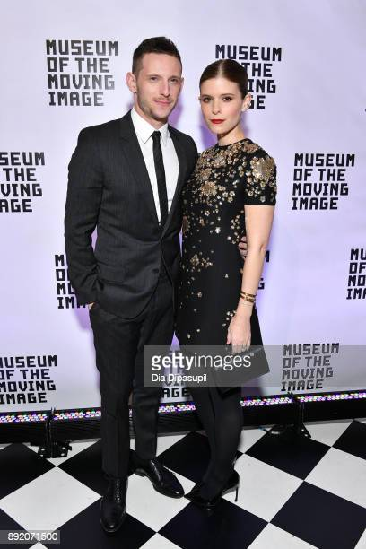 Jamie Bell and Kate Mara attend the Museum of the Moving Image Salute to Annette Bening at 583 Park Avenue on December 13 2017 in New York City