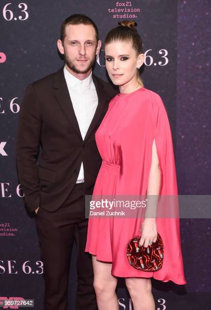 Jamie Bell and Kate Mara attend the New York premiere of FX series 'Pose' at Hammerstein Ballroom on May 17 2018 in New York City