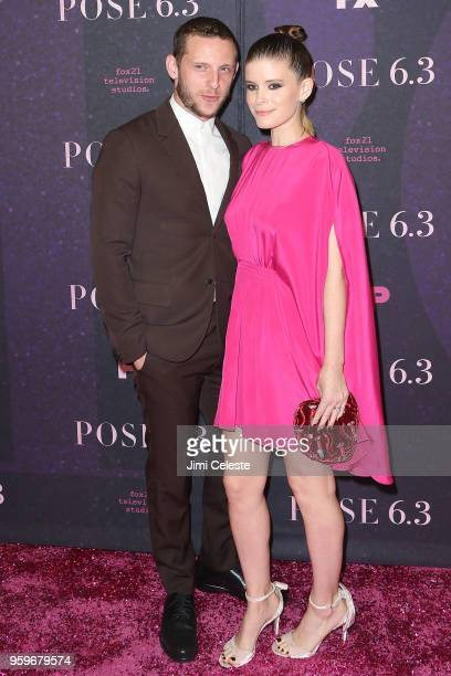 Jamie Bell and Kate Mara attend the New York premiere of Pose at the Hammerstein Ballroom on May 17 2018 in New York New York