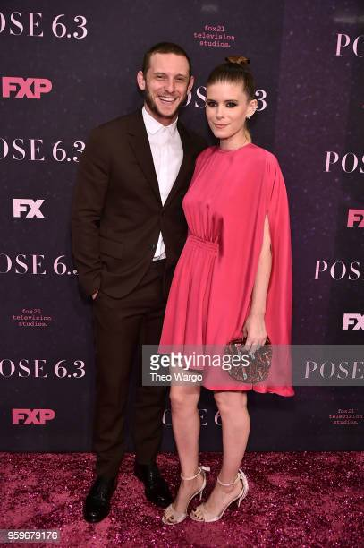 Jamie Bell and Kate Mara attend the Pose New York Premiere at Hammerstein Ballroom on May 17 2018 in New York City