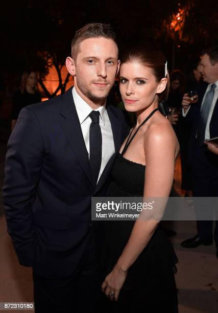 Jamie Bell and Kate Mara attend the SAGAFTRA Foundation Patron of the Artists Awards 2017 at the Wallis Annenberg Center for the Performing Arts on...