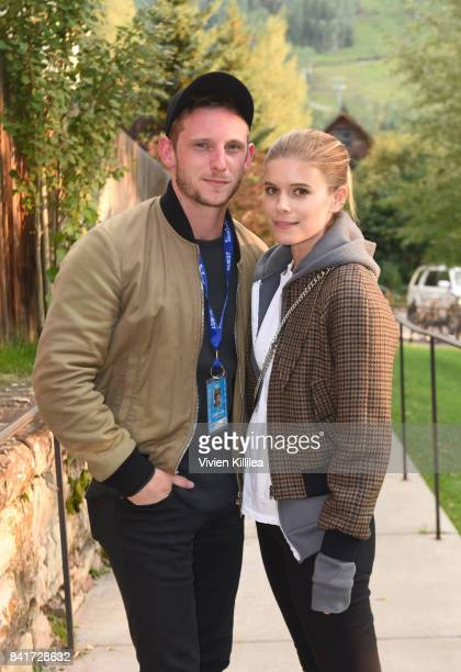 Jamie Bell and Kate Mara attend the Telluride Film Festival 2017 on September 1 2017 in Telluride Colorado