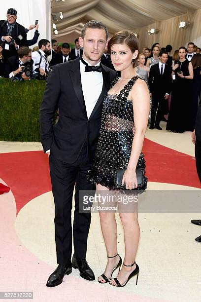 Jamie Bell and Kate Mara attends the 'Manus x Machina Fashion In An Age Of Technology' Costume Institute Gala at Metropolitan Museum of Art on May 2...