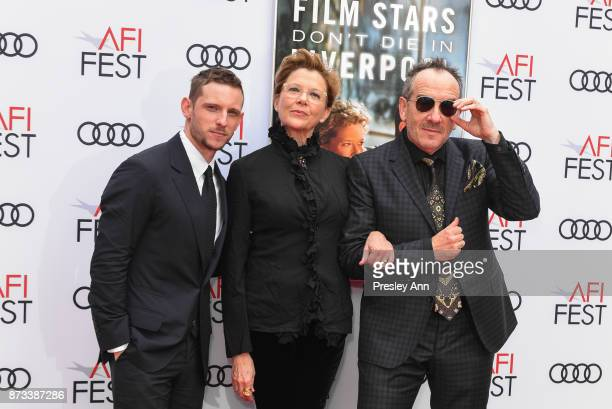 """Jamie Bell, Annette Bening and Elvis Costello attend AFI FEST 2017 Presented By Audi - Screening Of """"Film Stars Don't Die In Liverpool"""" - Arrivals at..."""