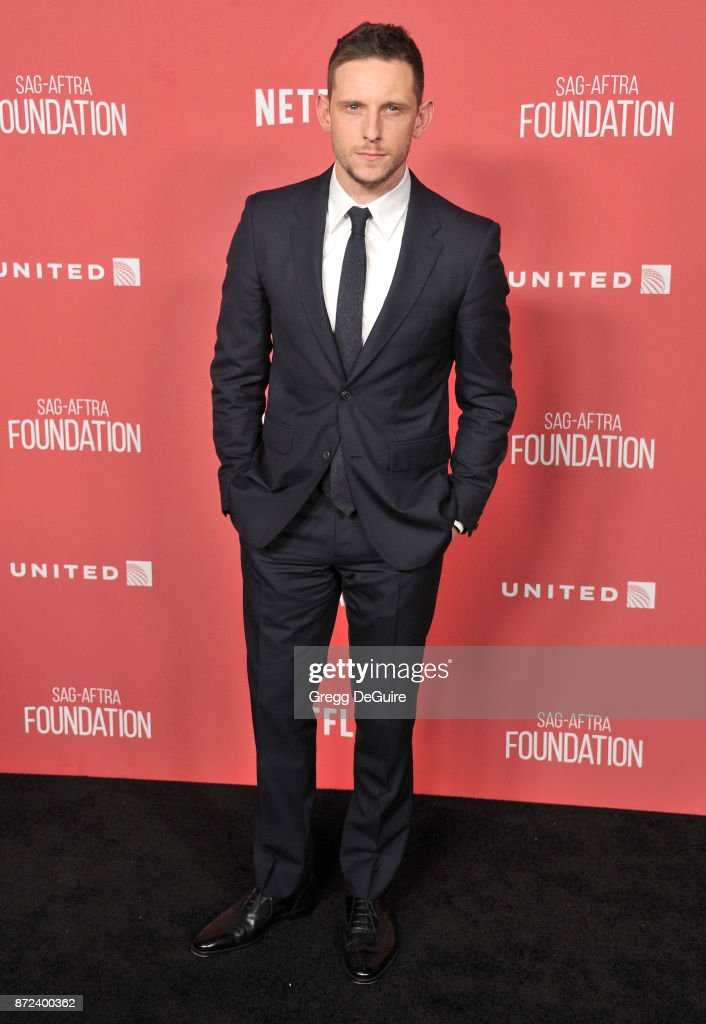 Jamie Bell arrives at the SAG-AFTRA Foundation Patron of the Artists Awards 2017 on November 9, 2017 in Beverly Hills, California.