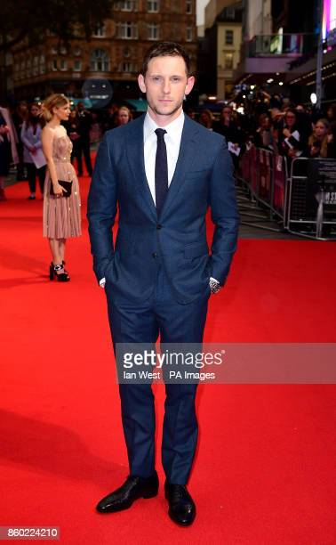 Jamie Bell attending the premiere of Film Stars Don't Die In Liverpool as part of the BFI London Film Festival at the Odeon Leicester Square London