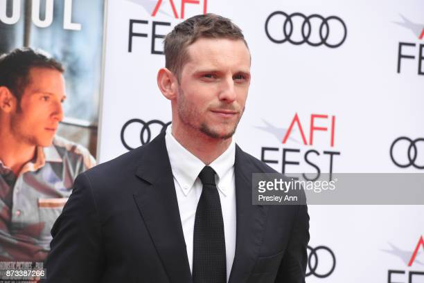 """Jamie Bell attends AFI FEST 2017 Presented By Audi - Screening Of """"Film Stars Don't Die In Liverpool"""" - Arrivals at TCL Chinese Theatre on November..."""