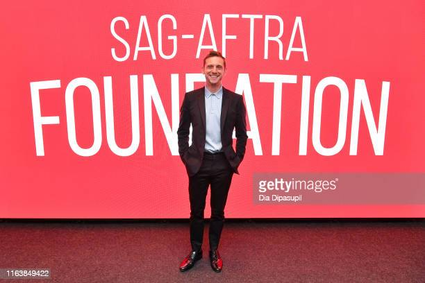 Jamie Bell attends SAGAFTRA Foundation Conversations Skin at The Robin Williams Center on July 23 2019 in New York City