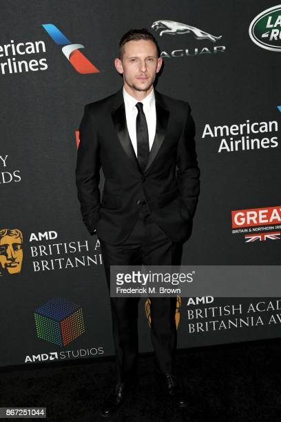 Jamie Bell attends the 2017 AMD British Academy Britannia Awards Presented by American Airlines And Jaguar Land Rover at The Beverly Hilton Hotel on...