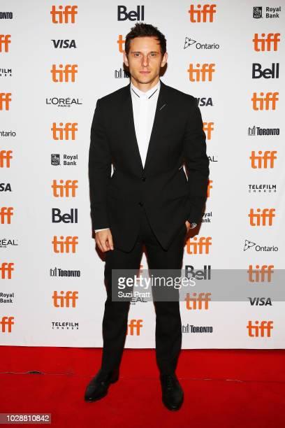 Jamie Bell attends the 'Donnybrook' premiere 2018 Toronto International Film Festival at Winter Garden Theatre on September 7 2018 in Toronto Canada