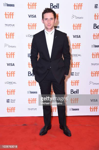 Jamie Bell attends the Donnybrook premiere during 2018 Toronto International Film Festival at Winter Garden Theatre on September 7 2018 in Toronto...