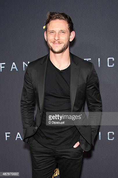 Jamie Bell attends the Fantastic Four New York Premiere at Williamsburg Cinemas on August 4 2015 in New York City