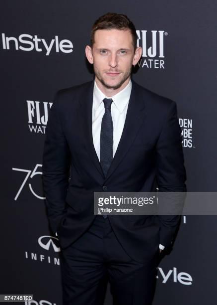 Jamie Bell attends the HFPA's and InStyle's Celebration of the 2018 Golden Globe Awards Season and the Unveiling of the Golden Globe Ambassador at...