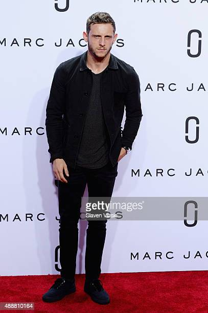 Jamie Bell attends the Marc Jacobs Spring 2016 fashion show during New York Fashion Week at Ziegfeld Theater on September 17 2015 in New York City