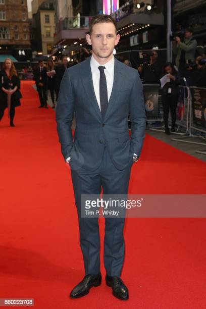 Jamie Bell attends the Mayfair Gala European Premiere of 'Film Stars Don't Die in Liverpool' during the 61st BFI London Film Festival on October 11...