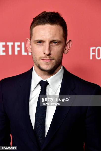 Jamie Bell attends the SAGAFTRA Foundation Patron of the Artists Awards 2017 at the Wallis Annenberg Center for the Performing Arts on November 9...