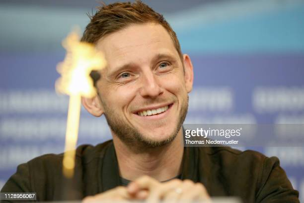 Jamie Bell attends the Skin press conference during the 69th Berlinale International Film Festival Berlin at Grand Hyatt Hotel on February 11 2019 in...
