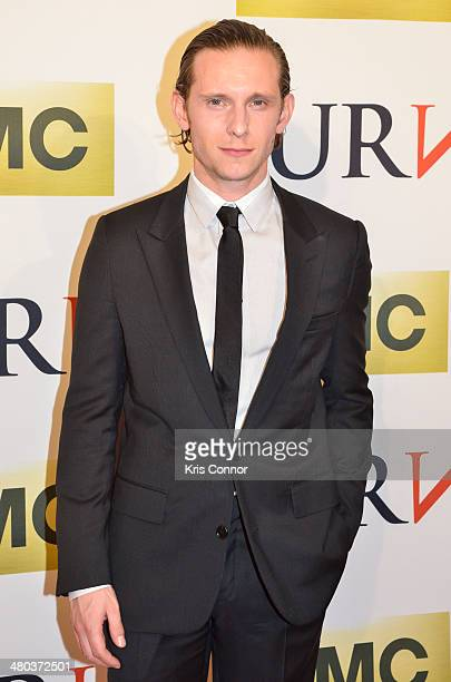 Jamie Bell attends the Turn series premiere at The National Archives on March 24 2014 in Washington DC