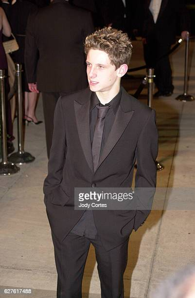 Jamie Bell attends the Vanity Fair magazine party at Morton's