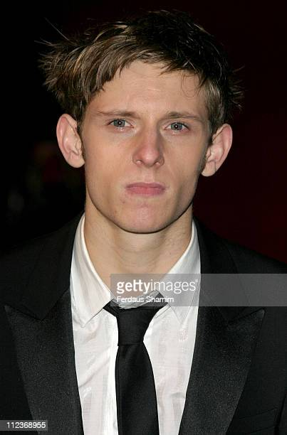 Jamie Bell during 'King Kong' London Premiere Outside Arrivals at Odeon Leicester Square in London Great Britain