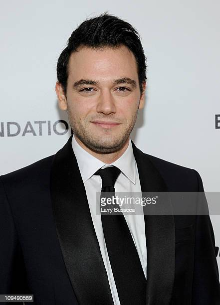 Jamie Belman arrives at the 19th Annual Elton John AIDS Foundation Academy Awards Viewing Party at the Pacific Design Center on February 27 2011 in...