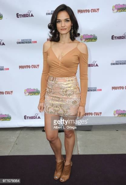 Jamie Bernadette arrives for the 2018 Etheria Film Night held at the Egyptian Theatre on June 16 2018 in Hollywood California