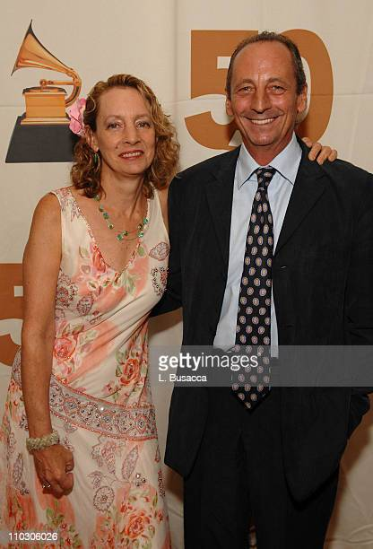 Jamie Bernstein Thomas and Alexander Bernstein pose during the Recording Academy New York Chapter's Tribute to Bon Jovi Alicia Keys Donnie McClurkin...