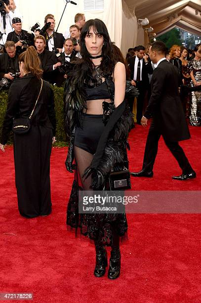 Jamie Bochert attends the 'China Through The Looking Glass' Costume Institute Benefit Gala at the Metropolitan Museum of Art on May 4 2015 in New...