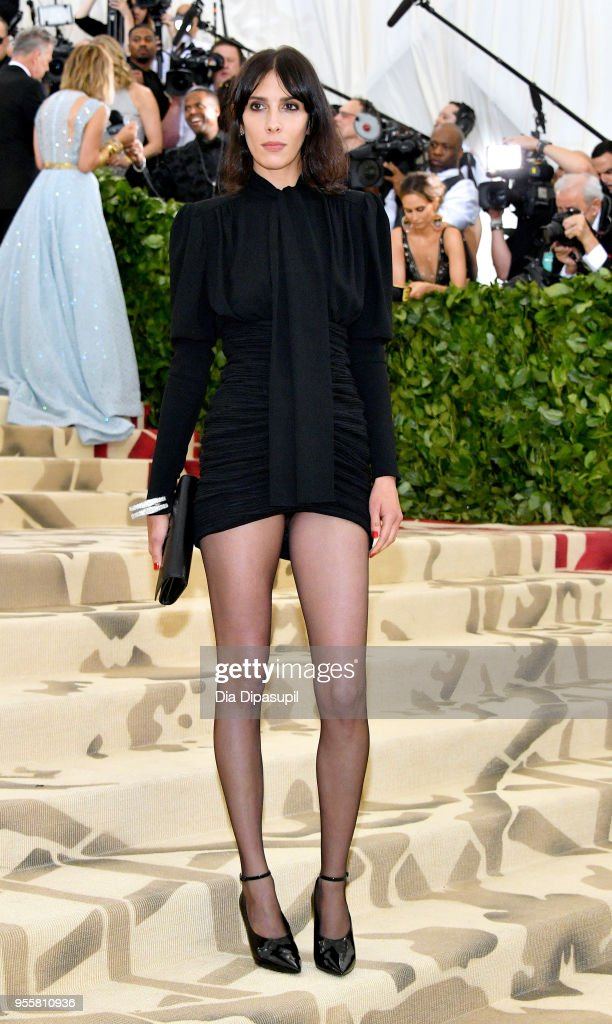 Jamie Bochert attends the Heavenly Bodies: Fashion & The Catholic Imagination Costume Institute Gala at The Metropolitan Museum of Art on May 7, 2018 in New York City.