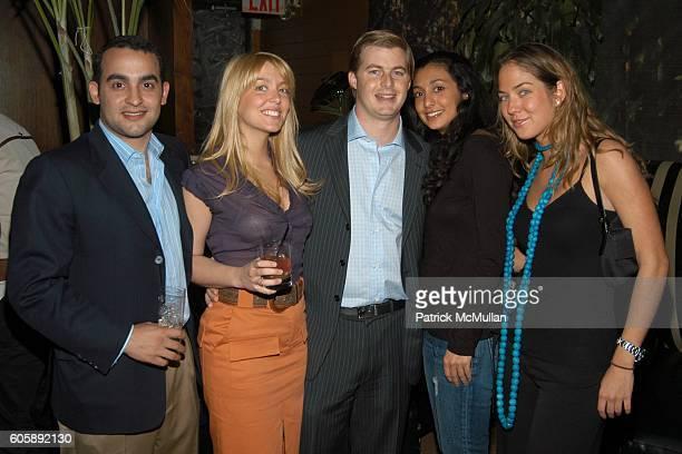 Jamie Bonetti Sandra Barros Henry Cisneros Dassine Hammoudi and Karina CorreaMaury attend JORDANA BREWSTER's Blame it on Rio Birthday Party hosted by...