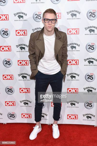 Jamie Borthwick attends OK Magazine's 25th Anniversary Party at The View from The Shard on March 21 2018 in London England