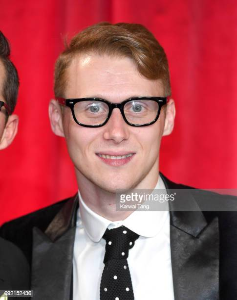 Jamie Borthwick attends the British Soap Awards at The Lowry Theatre on June 3 2017 in Manchester England