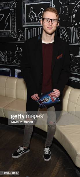 Jamie Borthwick attends the Gala Night after party for 'All Or Nothing The Mod Musical' at Foundation Bar on March 28 2018 in London England