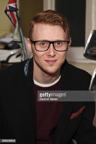 Jamie Borthwick attends the Gala Night performance of 'All Or Nothing The Mod Musical' at The Ambassadors Theatre on March 28 2018 in London England