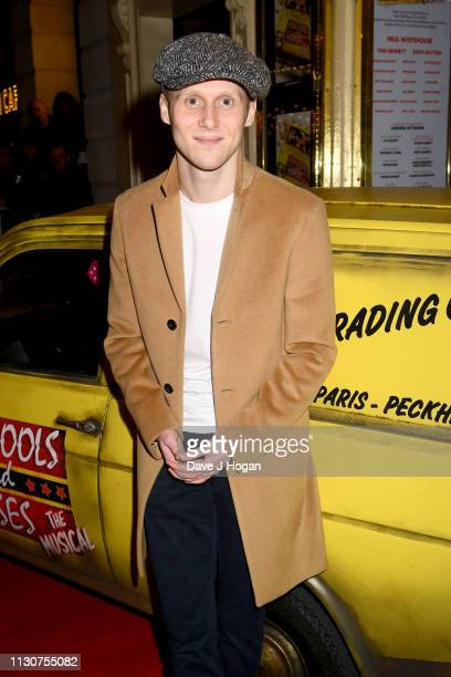 Jamie Borthwick attends the opening night of Only Fools and Horses The Musical at Theatre Royal Haymarket on February 19 2019 in London England