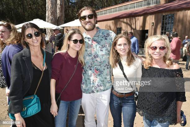 Jamie Braverman Amanda Hearst Ben Berube Ashley Bush and Sharon Bush attend Hearst Castle Preservation Foundation Annual Benefit Weekend 'Lunch at...