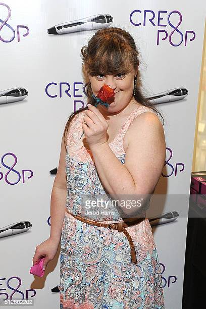 Jamie Brewer attends the GBK LifeCell 2016 Pre Oscar Lounge at The London West Hollywood on February 26 2016 in West Hollywood California