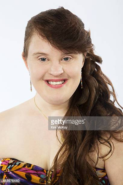Jamie Brewer is photographed for Los Angeles Times on August 25 2014 in Los Angeles California PUBLISHED IMAGE CREDIT MUST BE Kirk McKoy/Los Angeles...
